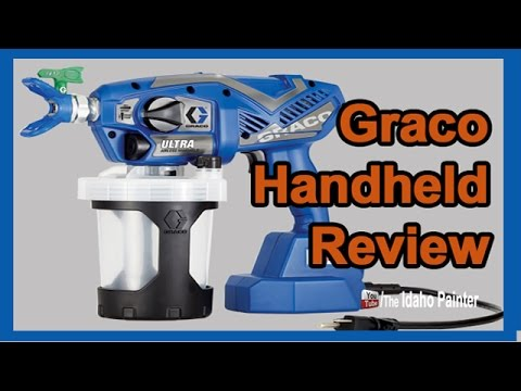 Graco Ultra Handheld Airless Paint Sprayer Review.