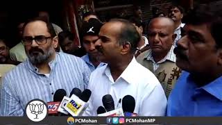 Protest against redevelopment of the Indiranagar BDA complex and commercialization of the area