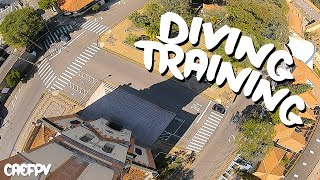 FPV Diving Training in Church
