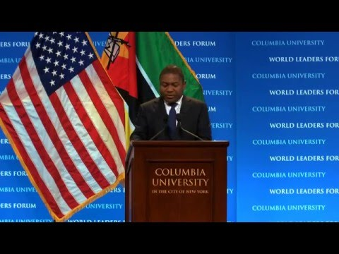 President Filipe Jacinto Nyusi of Mozambique - Columbia World Leaders Forum (English)