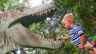 DINOSAUR EATS TODDLER