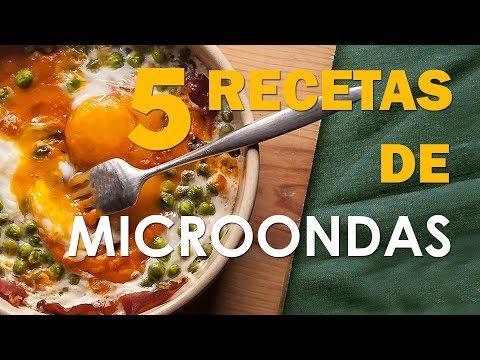 5 recetas para hacer con MICROONDAS