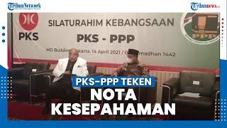 Teken Nota Kesepahaman, PKS-PPP Siap Jaga Demokrasi Agar Tetap Sehat Sesuai Amanat Reformasi