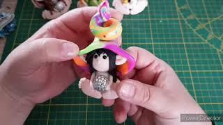 Craft Update Fimo Elfen, Candy Cards Und Eine Ankündigung😘