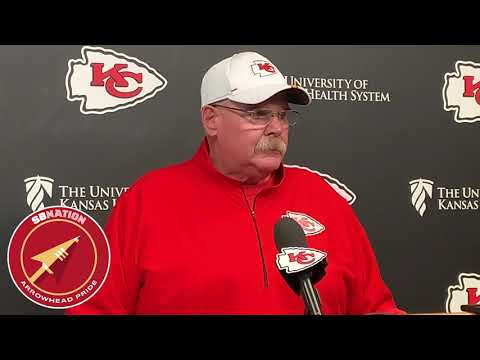 Andy Reid discusses injuries to Tyreek Hill and Patrick Mahomes (NFL Week 6 2019)