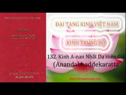 Kinh Trung Bộ - 132. Kinh A-nan nhất dạ hiền giả
