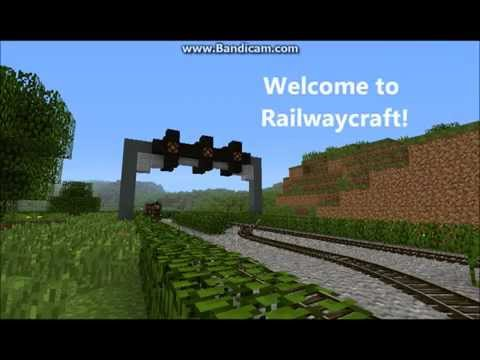 Railwaycraft - Traincraft Server Minecraft Server