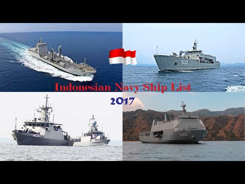 Indonesian Navy Ships List (2017)