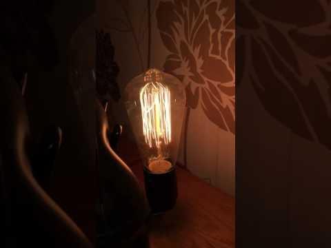 Vintage Retro, Edison Bulb Leuchte