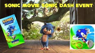 SONIC MOVIE NEWS: SONIC MOVIE SONIC DASH EVENT SOON!