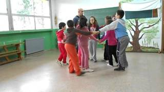 bailando a ronda do soldadinho en 3ºA