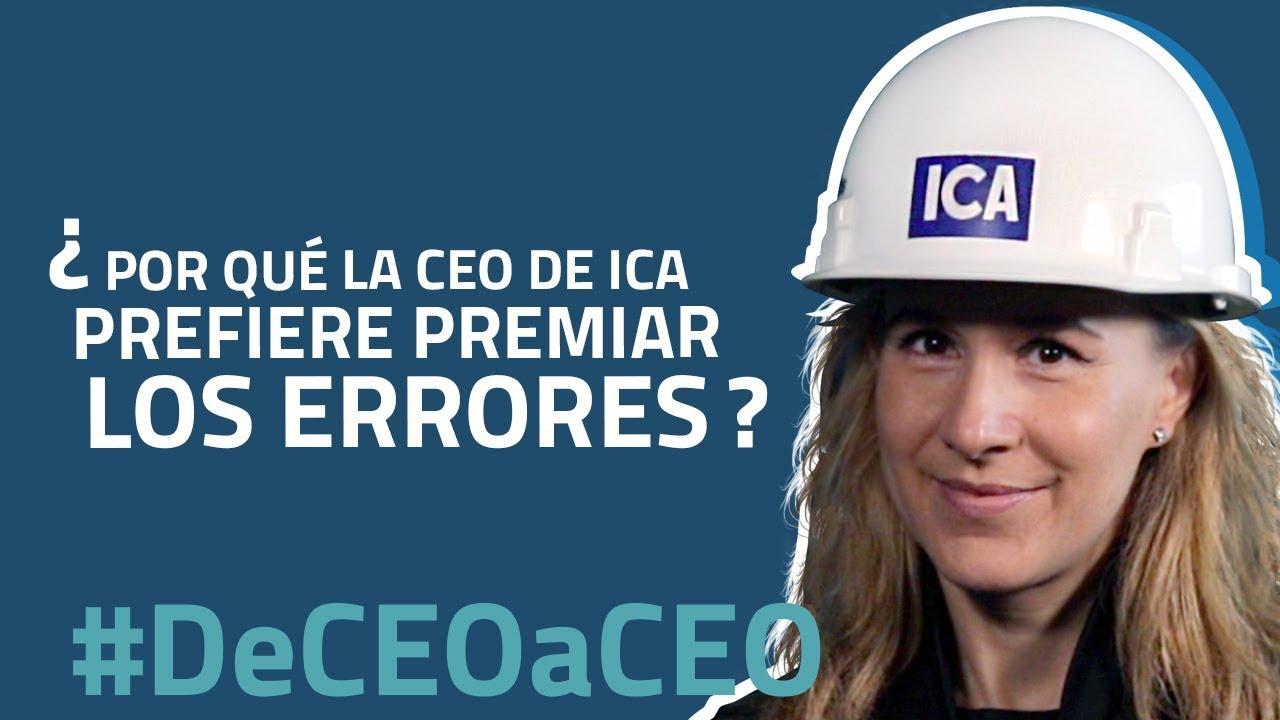 Por qué la CEO de ICA, Guadalupe Phillips, prefiere premiar los errores