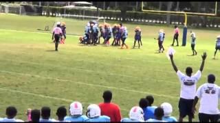 De'Andre Dixon 2015 Football Highlights  Fort Pierce Eagles