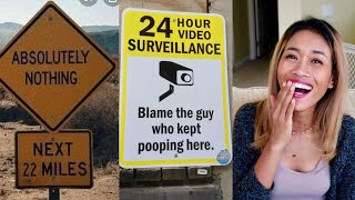 Funny Road Signs And Billboards That Make You Say WHAT! Reaction Video...