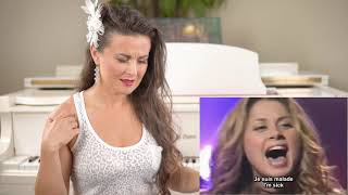 Vocal Coach Reacts To Lara Fabian   Je Suis Malade
