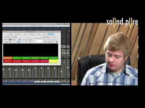 Euphonix Artist Series Touchscreen with Pro Tools HD – MC Control main touchscreen video 2