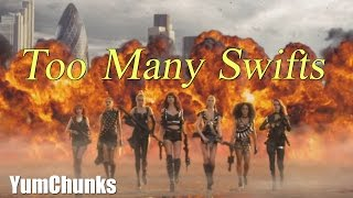 Too Many Swifts (Taylor Swift Bad Blood / Too Many Cooks Parody)