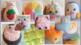 MY JUMBO SQUISHY COLLECTION!! IBLOOM, PAT PAT ZOO, PUNI MARU!!!