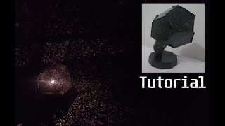 TUTORIAL: Installation of Constellation Lamp/Starfield Simulation/ Star Lamp Step by Step