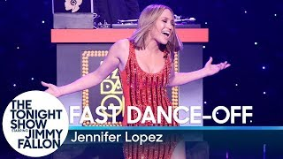 Fast Dance-Off with Jennifer Lopez