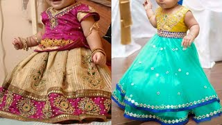 Kids Party Wear Traditional Dress Designs Catalogue   Baby Girls Lehenga Designs 2018/2019