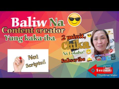 BALIW na Content creator/ 2minit chika ni Lolahz! 😁