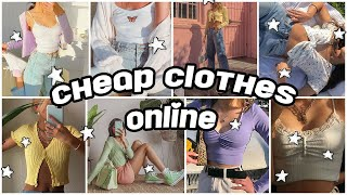 Cheap Clothing Stores Online *aesthetic*