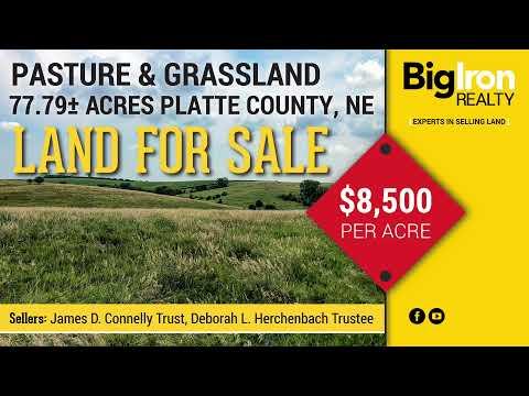 77.79+/- Acres Platte County, NE