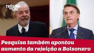 Lula venceria 2º turno das eleições de 2022, segundo Datafolha