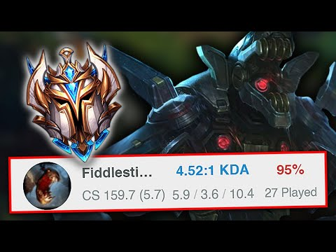 DAY 61 - NEW FIDDLESTICKS HAS GIVEN ME SO MUCH FREE ELO!! DUOS WITH RANK 1 TALON