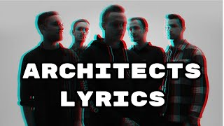 Architects - The Distant Blue w/ lyrics