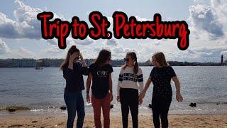 Наша поездка в Питер / our trip to St. Petersburg
