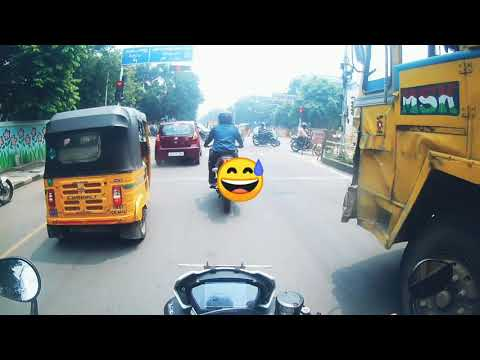 Street triple RS part 2 / traffic ride to OMR / Naked performance