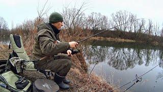 Рыбалка ранней весной на реке урала