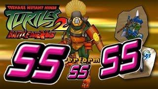 """TMNT 2: Battle Nexus"" - Все Гонки на SS"