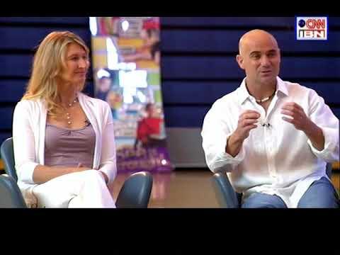 Dimensions: Vijay Amritraj interviews Steffi Graf & Andre Agassi - part 1