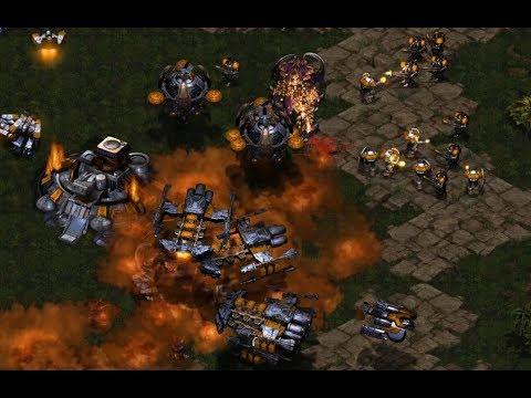 GOSU - Ramms (T) v Sziky (Z) on  Longinus - StarCraft - Brood War REMASTERED