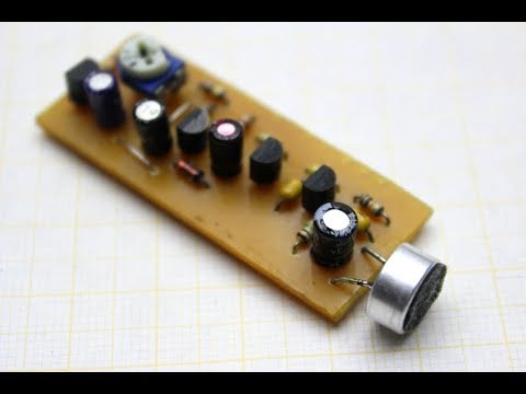 This device will let you hear everything!  DIY hearing aid.