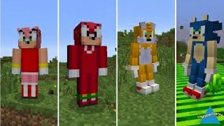 How To Go Sonic World | Minecraft Pe | Mod Toturial