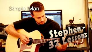 Simple Man - Lynyrd Skynyrd - Acoustic Cover by Stephen - Guitar Lessons