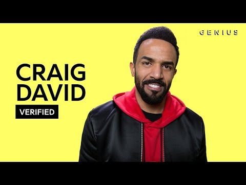 "Craig David ""I Know You"" Official Lyrics & Meaning 
