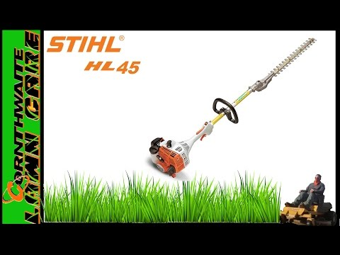 Stihl HL-45 review || Extended Reach Hedge Trimmer || Residential Grade