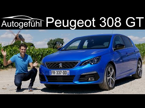 Peugeot 308 GT FULL REVIEW 2021 update 308 hatch GT Pack in Thomas Blue 😎 - Autogefühl