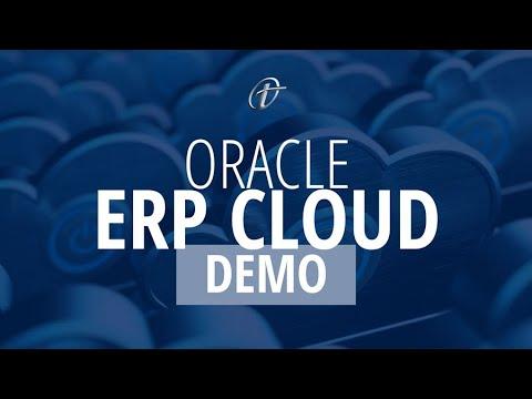 DEMO: Oracle ERP Cloud - YouTube