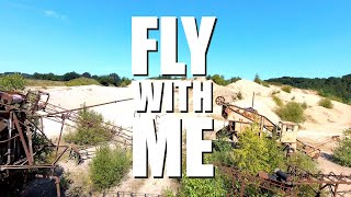 FPV-DIRK: FLY WITH ME - RELAXED FPV JOB (BANDO, LOST PLACE, EPIC, LONG RANGE, CINEMATIC) (4K/30p)