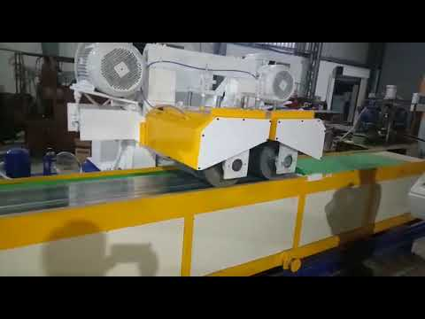 Aluminium Section Buffing Machine
