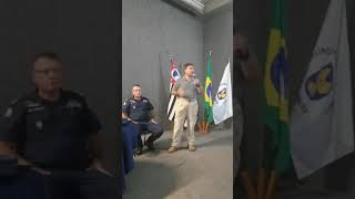 PRESIDENTE DO CNGM PARABENIZA GUARDA DE CAMPINAS