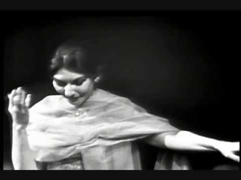 Maria Callas - Bel raggio lusinghier - Semiramide - G. Rossini