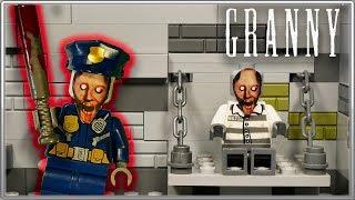 "LEGO Мультфильм Granny 3 ""Побег"" / LEGO Stop Motion Granny 3"