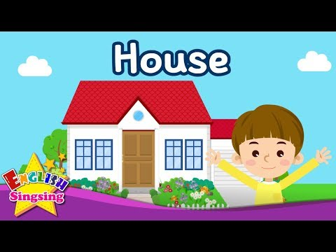 Kids vocabulary - House - Parts of the House